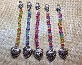 Scissor Fob, Handbag charm, Key Chain