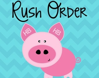 Rush Order Reservation