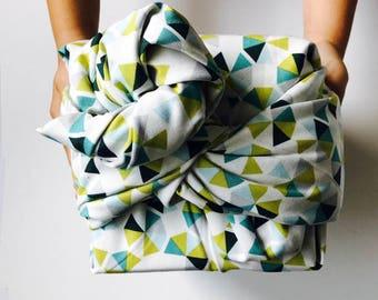 Furoshiki wrapping cloth / Line Dance Design