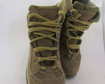 Army Tactic Sneakers Boots Olive Comfort Leather and Cordura Combat Military shoes