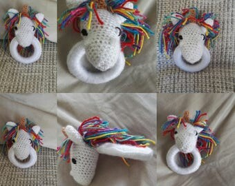 Unicorn rattle