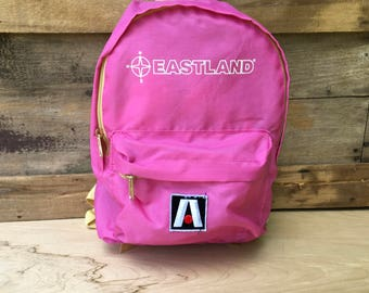 Pink Small Eastland Backpack