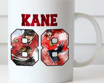 Patrick Kane Coffee Mug, Chicago Blackhawks, Kane 88