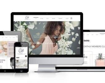 Website design / Custom Website / Web design / Website / Custom web design / Photography website / Business website / Blog design
