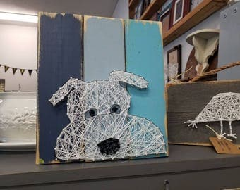 Puppy String Art