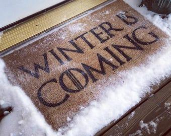 Winter Is Coming Doormat / Game of Thrones Gift
