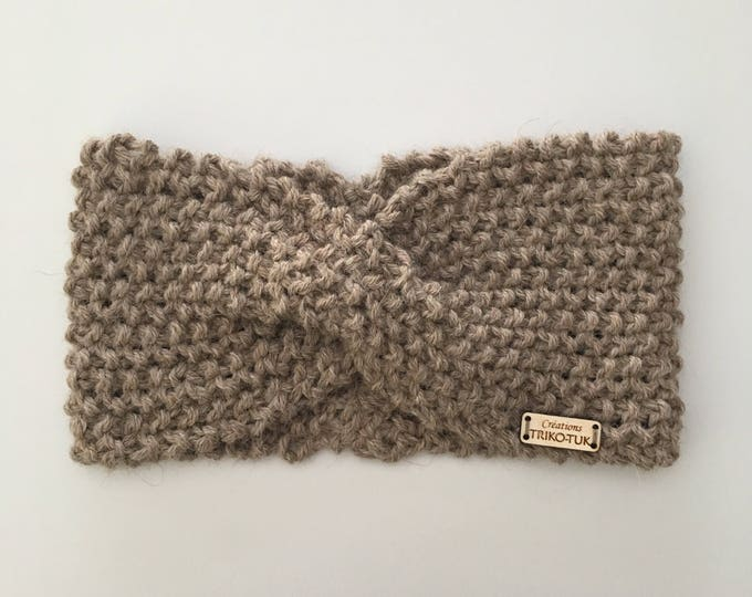 Women 100% alpaca headband