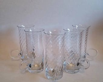 Dartington Crystal Irish Coffee Glasses