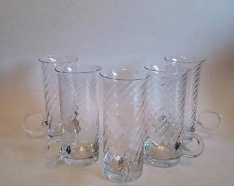 Dartington Crystal Irish Coffee Glasses