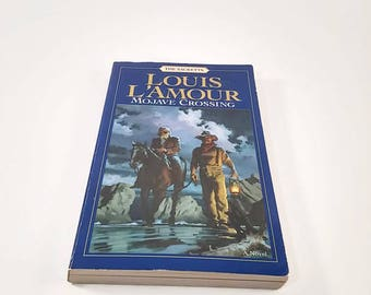 Mojave Crossing by Louis L'Amour  Paperback  Western