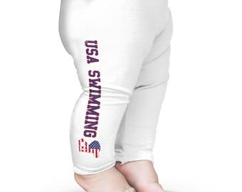Baby Leggings USA Swimming Baby Leggings Pants