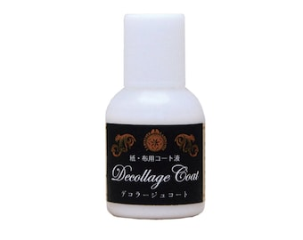 PADICO Decollage Coat - For Paper and Cloth - Waterproof Resins Coating 20g