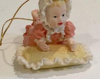 Vintage Ornament, Vintage Ashton Drake Ornament, Yolanda Bello Ornament, Heather Ornament