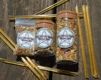 Sore Throat Relief Herbal Tea Mix (With Honey Sticks!)