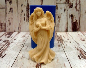 Guardian angel - silicone mold for soap and candles making mould molds