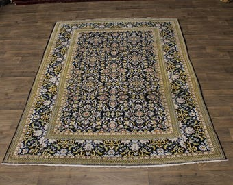 Gorgeous Rare Design S Antique Kashan Persian Area Rug Oriental Carpet Sale 7X10
