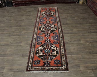4X13 Unique Palace Ardebil Meshkin Persian Area Rug Oriental Runner 3'8X13'5