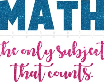 Math Counts SVG