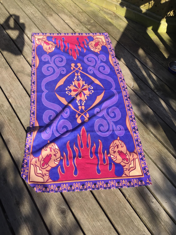Aladdin Magic Carpet Beach Towel