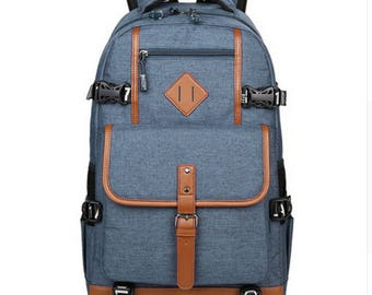 Oxford  Style  Backpack for Men