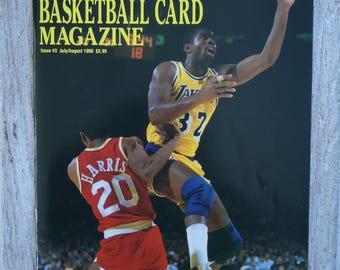 Magic Johnson 1990 Beckett magazine, Magic Johnson gift, LA Lakers gift, Los Angeles Lakers, Vintage NBA, Earvin Magic Johnson, Vintage