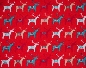 ORGANIC Jersey - reins ride - red background