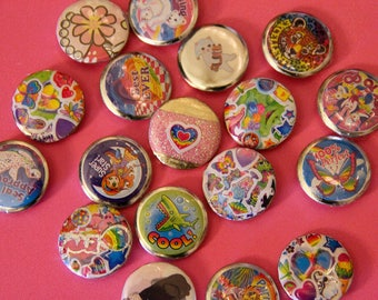Cute Decora Fairy Kei Lolita Buttons