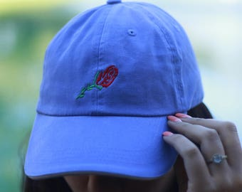 Cute Rose Baseball CAp