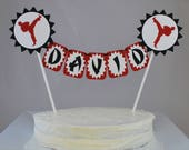 Karate Cake Topper - Karate Birthday Party Decorations - Tae Kwon Do Cake Bunting - Martial Arts Birthday Cake - Ninja Cake Toppers