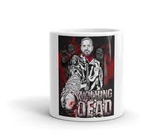 The Walking Dead Negan and Lucille Jeffrey Dean Morgan Mug