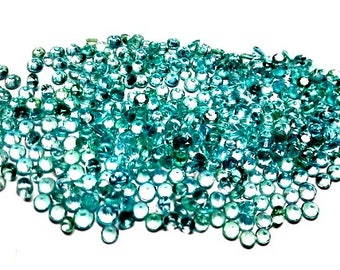 10 pieces 2mm Apatite faceted round gemstone, Natural Apatite Round Faceted calibrated Size Greenish Blue, Apatite faceted round gemstone