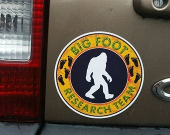 Bigfoot Sticker Etsy - Auto decals and magnets