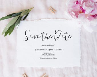 Diy save the date etsy printable save the date save the date template editable template save the dates junglespirit Image collections