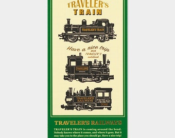 Traveler's Note 2018 Limited Plastic Sheet Regular Size 40220006 Traveler's Factory Midori Designphil Rare Free shipping New