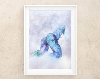 nude Butt painting