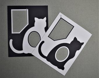 11x14 Photo Mat Cat
