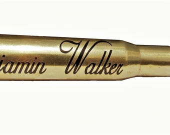 Personalized .50 cal Bullet Urn Cremation Keepsake - Real Bullet -  50 BMG (With or Without Key-Ring Variation)
