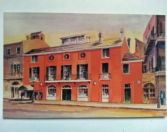 Brennans Restaurant Vintage Post Card New Orleans Louisiana French Quarter NEW