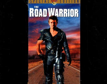 The Road Warrior - VHS (MadMax 2) Mel Gibson - Factory Sealed New.