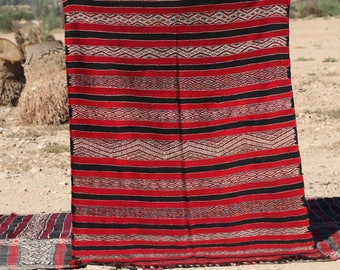 Tribal | kilim | Zemmour | Square rug | Moroccan rug | Berber rug | teppich | area rug H11