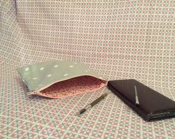 small clutch or makeup case