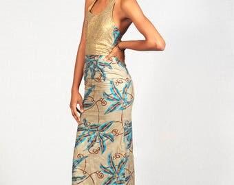 HELOISE backless dress