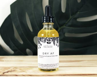 Facial Serum: DRY AF - natural bath and body Canada, dry skin oil, facial Canada, facial oil serum Canada, natural product for dry skin