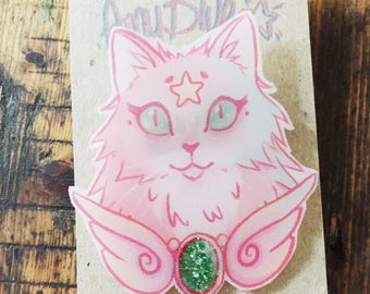 Magical Cat Brooch