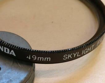 Miranda 49mm Skylight filter, Made in Japan