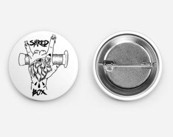 ShredBox BMX Button/Pin