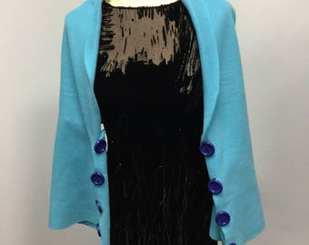 Handmade 5 Ways To Wear Poncho Handmade Fleece Poncho