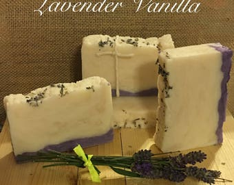 Lavender Vanilla Hand Crafted Soap