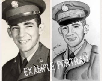 Made to Order Personalized Portrait drawings (upon request!)