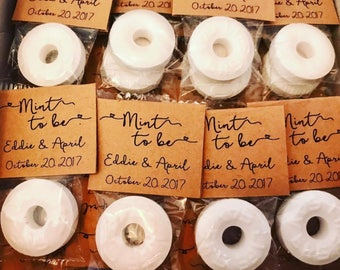 Mint to Be Wedding Favors, Wedding Shower Favors, Wedding Favors for Guests, Mint to Be Favors